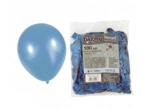 Balónek METAL - modrý