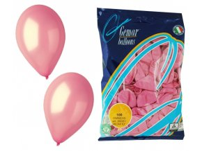 Balónek METAL - růžový