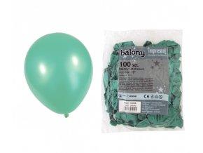 Balónek METAL - zelený