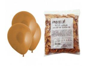 Balónek METAL - zlatý