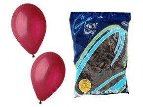 Balónek OBYČEJNÝ - bordó