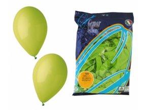 Balónek OBYČEJNÝ - zelený světle
