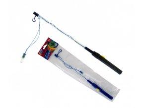 Držák na lampion - baterie blikací LED 40cm