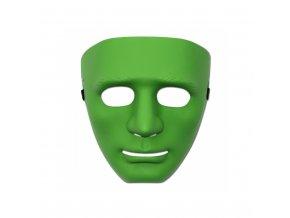 Maska - Plastová, zelená