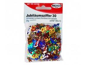 """Konfety jubilejní """"30"""" - 25g"""
