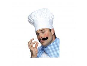 Kuchařská bílá čepice