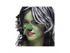 Čarodějnický nos - zelený