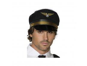 Čepice - pilot, černá