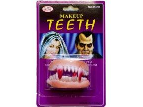 Gumové zuby - upír