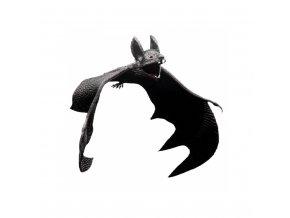 Gumový netopýr - halloween dekorace