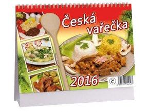 Kalendář 2016 - ČESKÁ VAŘEČKA, 23x16cm