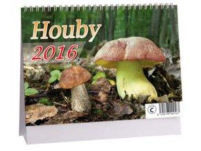 Kalendář 2016 - HOUBY, 23x16cm