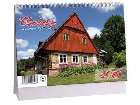 Kalendář 2016 - CHALUPY A PRANOSTIKY, 23x16cm