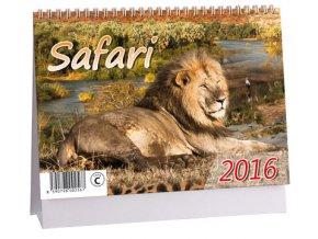 Kalendář 2016 - SAFARI, 23x16cm