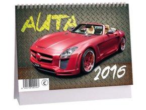 Kalendář 2016 - AUTA, 23x16cm
