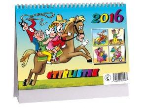 Kalendář 2016 - ČTYŘLÍSTEK, 23x16cm