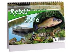 Kalendář 2016 - RYBÁŘ, 23x16cm