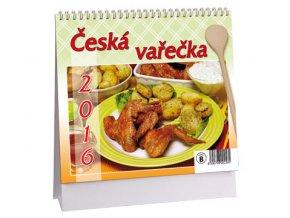 Kalendář 2016 - ČESKÁ VAŘEČKA, 17x14,5cm