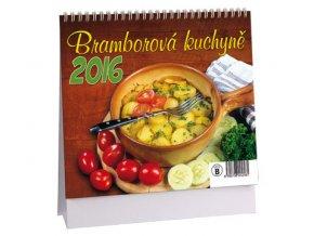 Kalendář 2016 - BRAMBOROVÁ KUCHYNĚ, 17x14,5cm