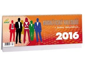Kalendář 2016 - MANAŽERSKÝ+DAŇOVÉ KALENDÁRIUM, 34x12cm