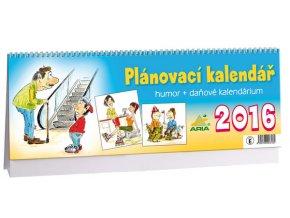 Kalendář 2016 - HUMOR+DAŇOVÉ KALENDÁRIUM, 34x12cm