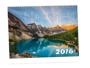 Kalendář 2016 - NÁRODNÍ PARKY, 45x33cm