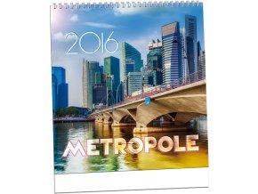 Kalendář 2016 - METROPOLE, 32x34cm