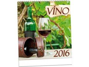 Kalendář 2016 - VÍNO, 32x34cm