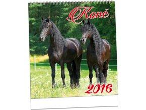 Kalendář 2016 - KONĚ, 32x34cm