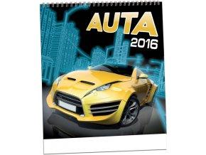 Kalendář 2016 - AUTA, 32x34cm