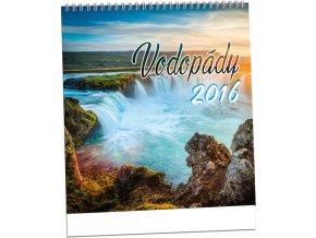 Kalendář 2016 - VODOPÁDY, 32x34cm