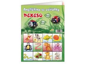 Pexeso - Angličtina se zvířátky