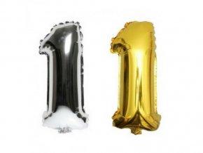 3488 nafukovaci cislo 1 stribrne zlate 85 cm(1)