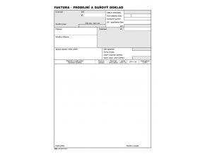 001 - Faktura - prodejní a daňový doklad