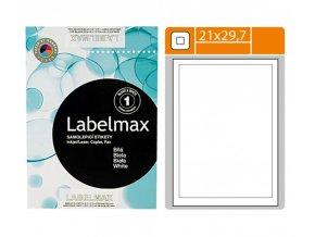 Etikety samolepící, (210x297mm), 1 etiketa