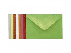 Obálka dopisní, barevná, C6, ozdobná