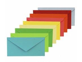 Obálka dopisní, barevná, DL