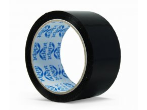 Lepící páska, 48mm x 66m, černá, ADEPT
