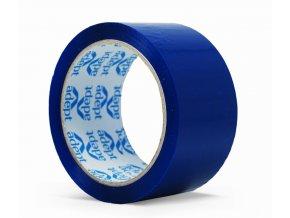 Lepící páska, 48mm x 66m, modrá, ADEPT