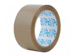 Lepící páska, 48mm x 66m, hnědá, ADEPT