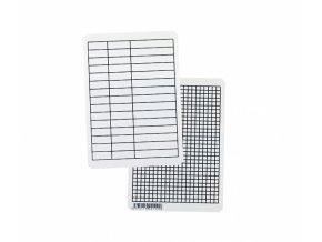 Podložka linkovaná i čtverečkovaná, A5, PVC, LENOCH