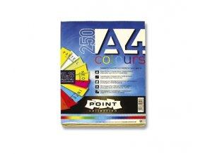 Papír XERO, A4, barevný, 250ks, 80g