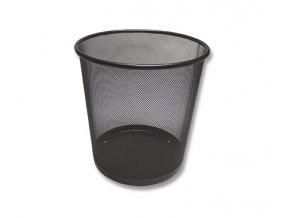 Koš odpadkový, drátěný, černý