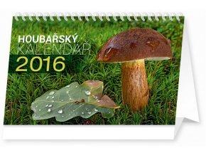 Kalendář 2016 - HOUBY, (23,1x14,5cm)