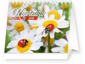 Kalendář 2016 - KOPRETINY s citáty, (16,5x13cm)