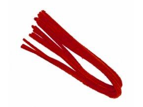Drátek žinylka, 50x8mm, červený