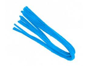 Drátek žinylka, 50x8mm, modrý