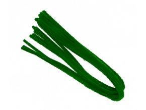 Drátek žinylka, 50x8mm, zelený