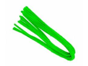 Drátek žinylka, 50x8mm, zelený světle