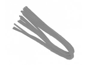 Drátek žinylka, 50x8mm, šedý